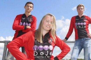 Ellen Fokkema será la primera mujer que jugará en un equipo de fútbol masculino en Países Bajos