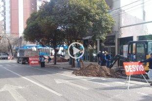 Inconvenientes en desagües cloacales en Bulevar Gálvez y Necochea -  -