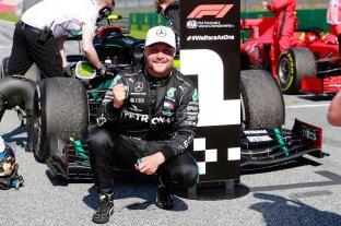 Bottas renovó y continuará una temporada más en Mercedes