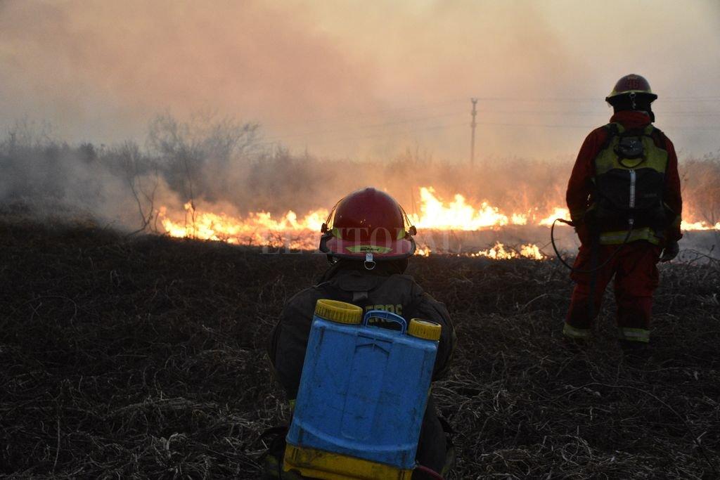 """Gasparutti: """"Los incendios son provocados: hay que medir la intencionalidad"""" -  -"""