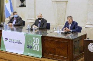 Jatón participó de la apertura del Foro de Capital para la Innovación