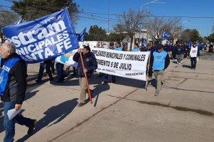 Municipales de toda la provincia realizarán una jornada de protesta