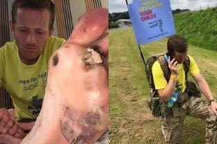 Reino Unido: un hombre recorre más de 1000 kilómetros descalzo para ayudar a su hija