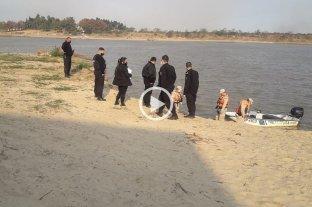 Macabro hallazgo en aguas frente al Club Azopardo -