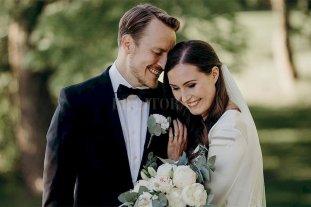 Finlandia: la Premiar Sanna Marin se casó con el exfutbolista Markus Räikkönen