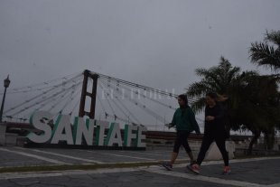 Viernes algo nublado y con probabilidad de lluvias en la ciudad de Santa Fe