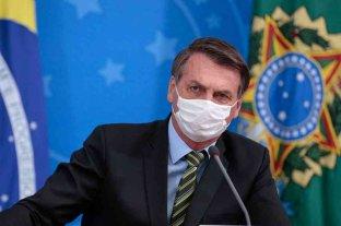 """Bolsonaro tildó de """"mentira"""" que la Amazonía esté ardiendo"""