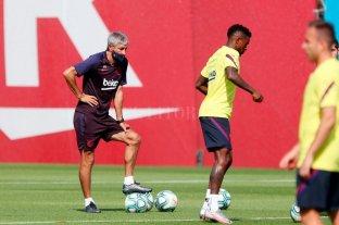 """El entrenador del Barcelona y los rumores: """"No se me ha pasado por la cabeza que sea mi último partido"""""""