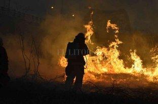 """Gasparutti: """"Los incendios son provocados"""""""
