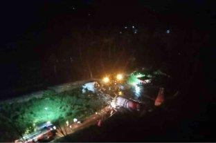 India: se estrelló un avión con más de 190 pasajeros a bordo