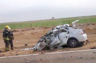 Murió una mujer de 51 años en un accidente en la Ruta 33