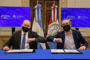 Perotti concedió un salvataje financiero al municipio de Rosario
