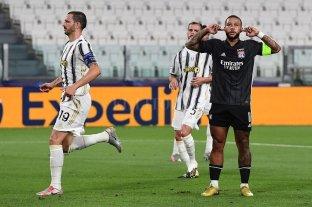 Lyon sorprende a Juventus y lo elimina de la Liga de Campeones
