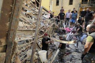 Beirut: encuentran nuevas víctimas de la explosión