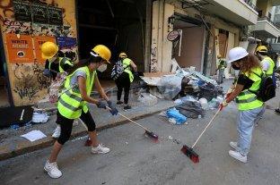 """Líbano ve una posible """"interferencia externa"""" en la explosión del puerto de Beirut"""