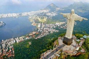 Video: el Cristo Redentor de Río de Janeiro lució los colores de la bandera de Líbano