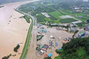 Ascienden a 21 los fallecidos por las torrenciales lluvias en Corea del Sur