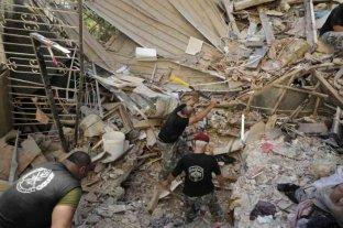 Beirut: continúa la búsqueda de más de 60 desaparecidos