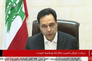 El primer ministro libanés pide adelantar elecciones para salir de la crisis