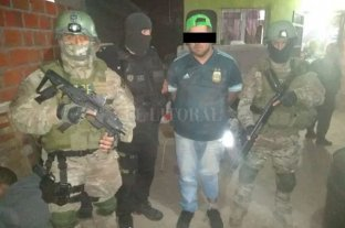 """Villa Gobernador Gálvez: dos años de prisión preventiva para el """"Gordo Dany"""" -  -"""