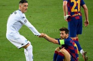 La lesión de Messi es solo un golpe y podrá jugar contra Bayern Munich