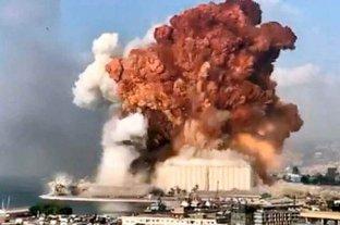 """Trump pidió una """"investigación completa y transparente"""" de la explosión en Beirut"""