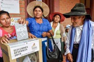 """Bolivia: Las elecciones son """"inamovibles"""""""