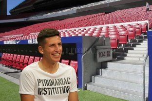 """Unión: hay oferta del Atlético de Madrid por Mariano Gómez - Sueños de fútbol. Mariano Gómez, jugador de Unión. Tiene la chance concreta de ir al Atlético de Madrid, que apostaría para su desarrollo en la Filial """"B"""". -"""