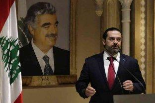Renunció a su cargo Saad al Hariri, el primer ministro de Líbano