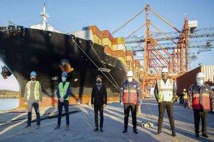 Llegó al país otro buque chino con insumos médicos