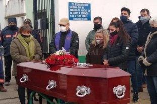 Río Gallegos: inhumaron los restos de Fabián Gutiérrez