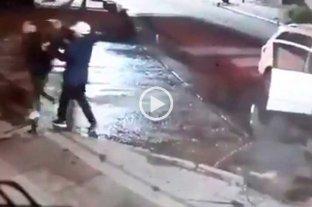 Video: entregó sus pertenencias pero el ladrón disparó igual