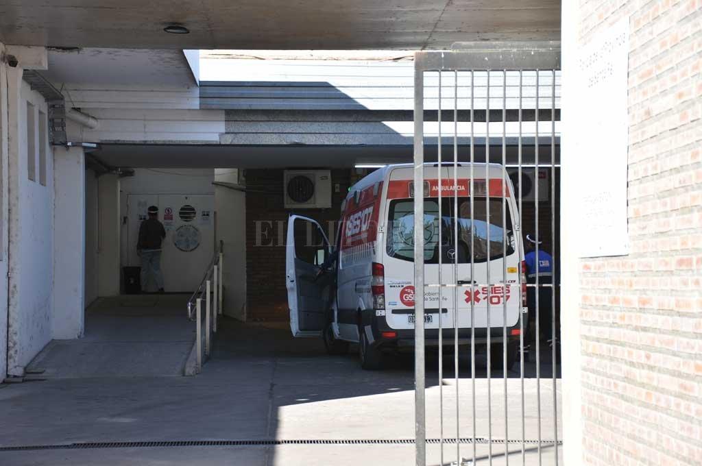 El hombre herido fue asistido en el Cullen Crédito: Manuel Alberto Fabatía