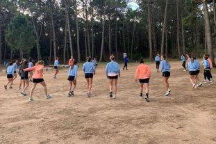 Las Leonas llegaron a Pinamar para un intenso entrenamiento de 18 días