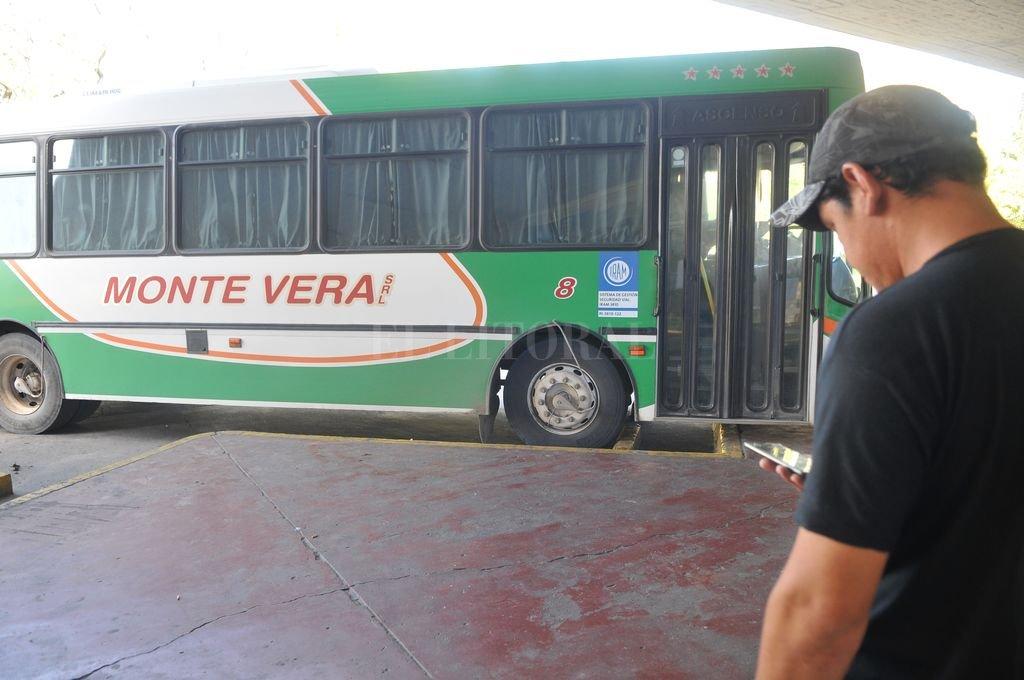 Un chofer de la empresa Monte Vera, también positivo a Covid-19 - Imagen ilustrativa. -