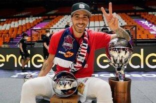 """""""Quiero mantener la mentalidad ganadora"""", apunta el base de Baskonia Luca Vildoza"""
