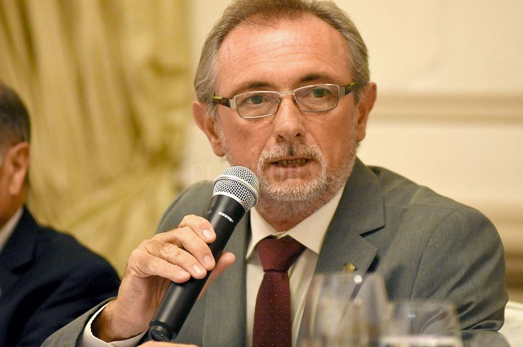 Daniel Costamagna, ministro de la Producción de la provincia. Crédito: Archivo El Litoral