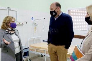 Martorano recorrió el viejo Hospital Iturraspe