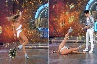 Adabel Guerrero se cayo en el Cantando y...¡hay memes!