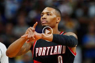 NBA: Portland le ganó a Dallas con 61 puntos de Lillard