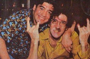 """Charly García le escribió una emotiva a carta a Maradona: """"Recordá que sos un genio y que todos te aman"""""""