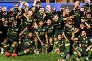 Los argentinos Valeri, Blanco y Conechny, campeones de la MLS con el Portland Timbers