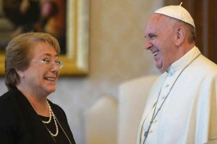Francisco recibió a Bachelet con agenda en América Latina y la pandemia