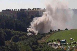 Descarriló un tren de pasajeros en Escocia: hay varios heridos de gravedad