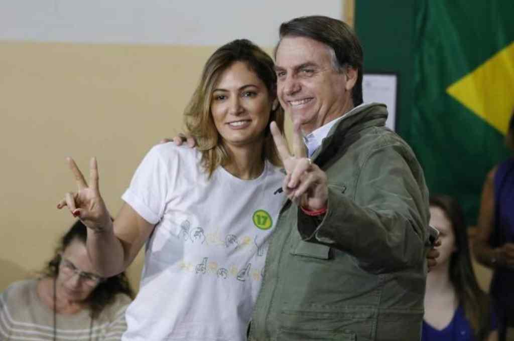 Murió por coronavirus la abuela de Michelle Bolsonaro, esposa del presidente brasilero -  -