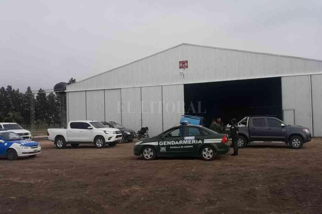 El hecho ocurrió en septiembre del año pasado, en un hangar del Aeroclub de la ciudad de San Justo, destinado a una empresa de fumigaciones aéreas. Crédito: Archivo El Litoral