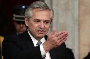 """Alberto Fernández: """"orgullosos de haber caído en la educación pública"""""""