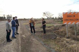 Fuerte reclamo de la Municipalidad de Sastre por la obra de la circunvalación