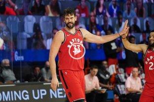 Toronto Raptors venció a Philadelphia Sixers