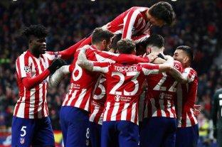 El Atlético Madrid de Simeone enfrenta al Leipzig por los cuartos de final de la Champions